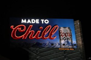 Welcome to SignMakers COORS lit 300x200